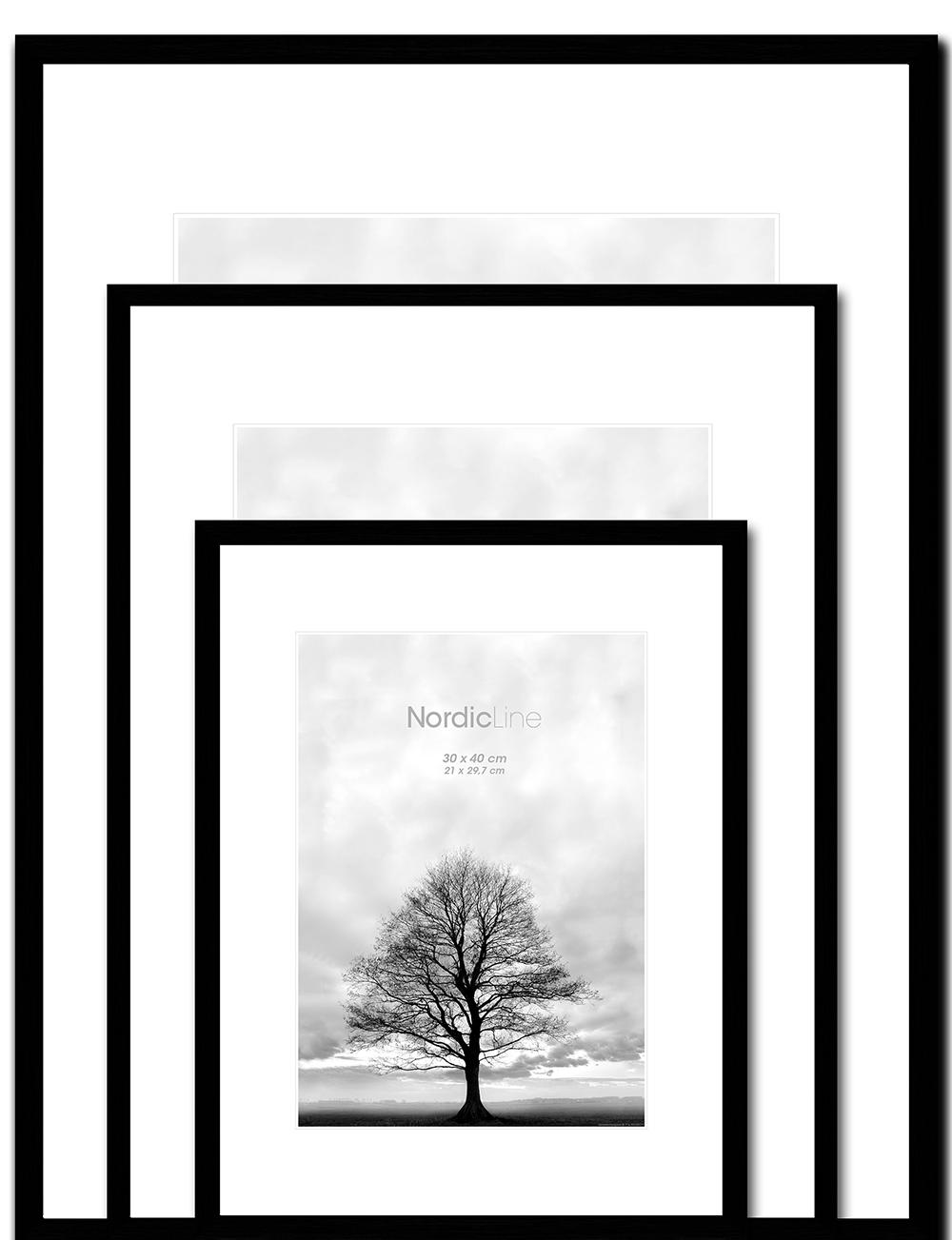 Artframe - Nordic Line - Slim Black - INCADO