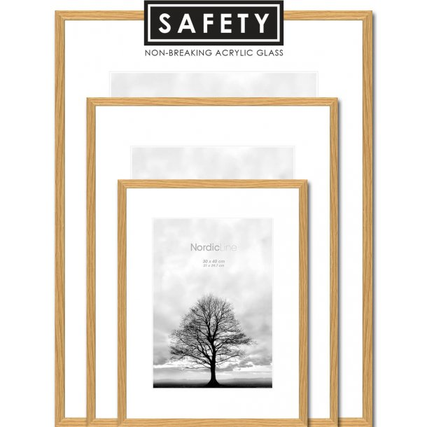 Slim Oak - Safety - Frames - Incado