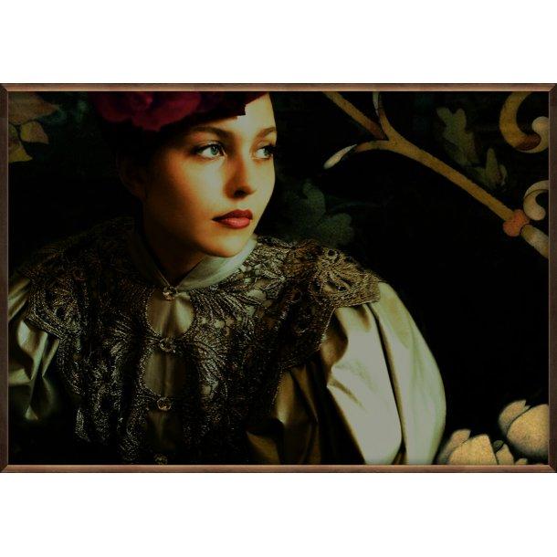 Baroque Girl in Dress