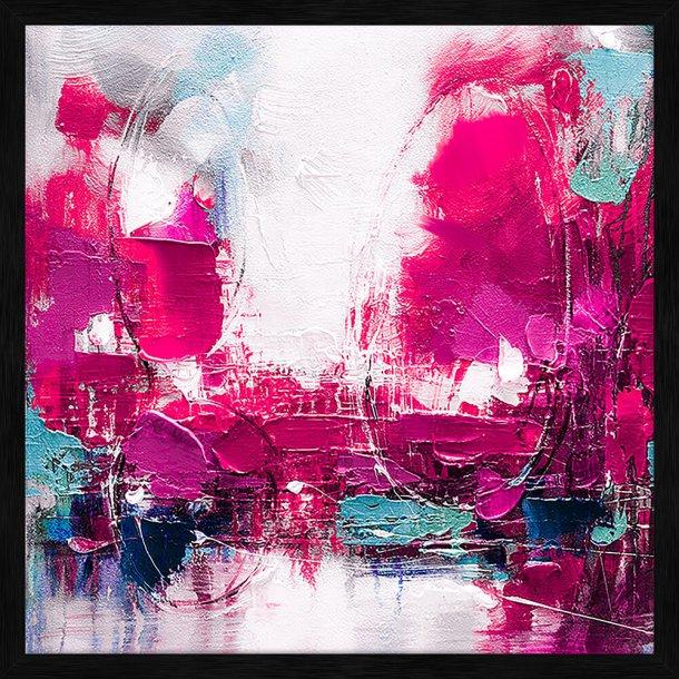 Abstract Life - Pink III