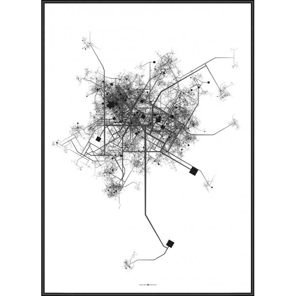 City Map Grey