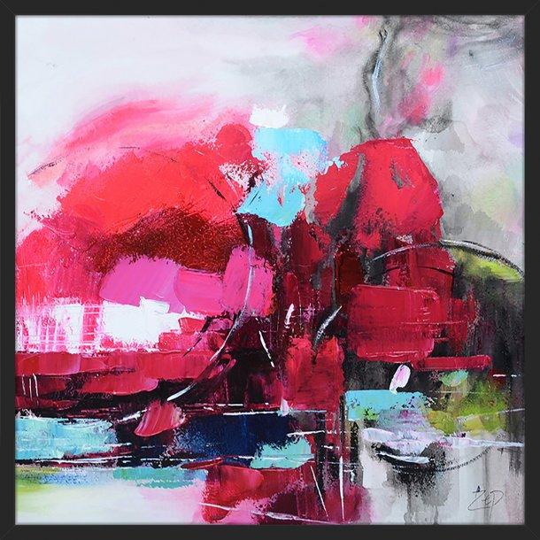 Abstract Life - Pink I